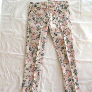 Authentic Vintage ~Flower ROSE Denim~ Skinny Jeans